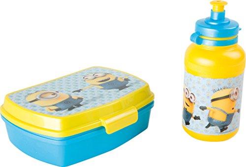 Gru: Mi Villano Favorito Joy Toy 5584 – Minions Brotdose und Trinkflasche