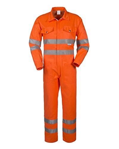 Tuta Alta Visibilita' Catarifrangente Arancio 09 Classe 3 A40117 (48)