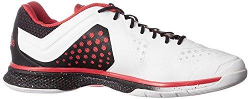 adidas Performance Herren Adizero Counterblast 7 Handballschuhe Weiß (Crystal White S16/Vivid Red S13/Core Black)