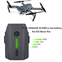 Bloomma 2 Pack 11.4 V 3830mAh LiPo Smart Flight polímero de Litio reemplazo de la batería para dji Mavic Pro Gama Completa de Modelos de Drones