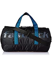 Fastrack Polyester 17 inches Black Travel Duffle (A0722NBK01)