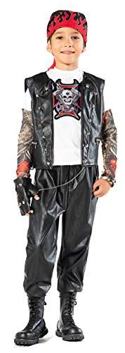 chiber Kostüme Kostüm Motorista Rockero für Kinder Talla 7 (6-7 años)