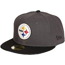 New Era NFL PITTSBURGH STEELERS Ballistic Visor 59FIFTY Cap, Größe:7 1/8