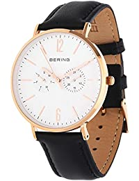 Bering Armbanduhr Classic schwarz 14240-464U