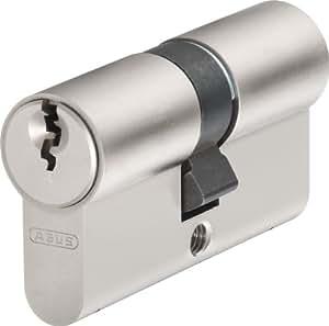 ABUS E20NP 598241 Lot de 3 barillets de serrure identiques avec 5 clés