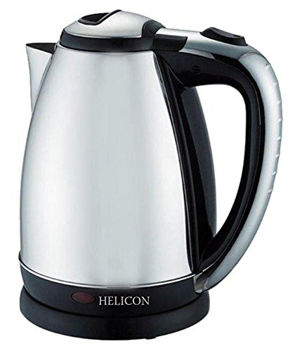 Helicon Electric Kettle- 2 Litre(Strong Stainless Steel Body) -Tea & Coffee Maker