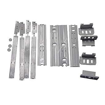 Ensemble rail porte (1052) 850370496002 refrigerateur laden co190a+