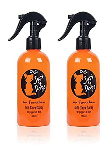 Just 4 Dogs Anti-Chew Spray 300ml TWO PACK
