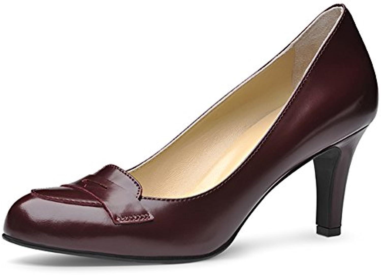 Evita Shoes Bianca Escarpins Femme Cuir Brush Brush Brush Bordeaux 34B016CKOBA6Parent | à L'aise  cd0cbd