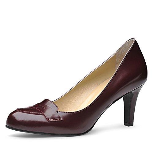 Evita Shoes, Scarpe col tacco donna Viola (Bordeaux)
