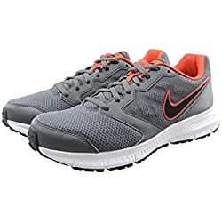 Nike Men's Downshifter 6 MSL Dark Grey, Black and White Running Shoes - 9 UK/India (44 EU)