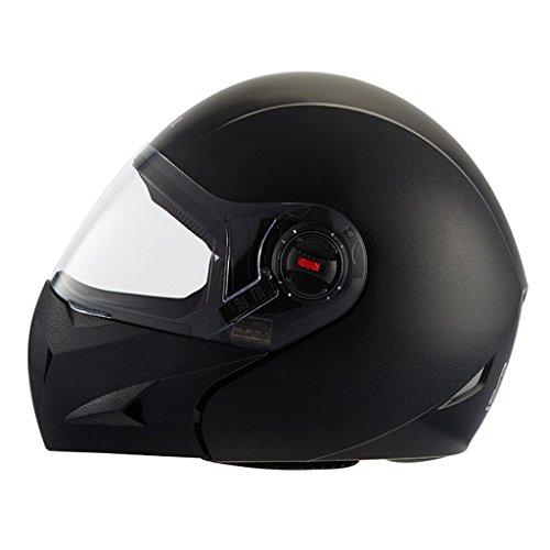 Steelbird Flip-Up Helmet SB-41 Oscar X Classic (Black)