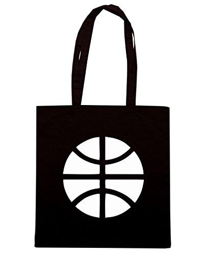 T-Shirtshock - Borsa Shopping OLDENG00398 basketball (7) Nero
