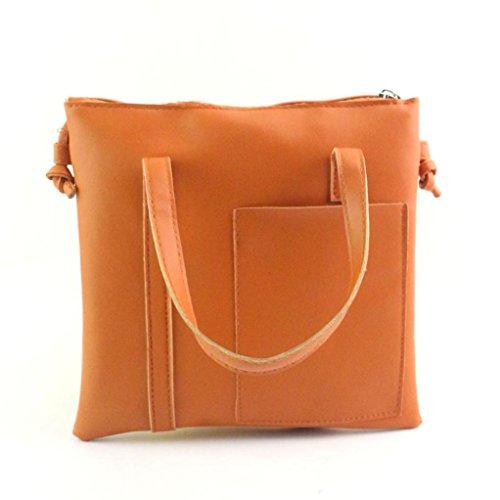 Xjp Women Fashion Handbag Large Tote Purse Shoulder Bag Braun
