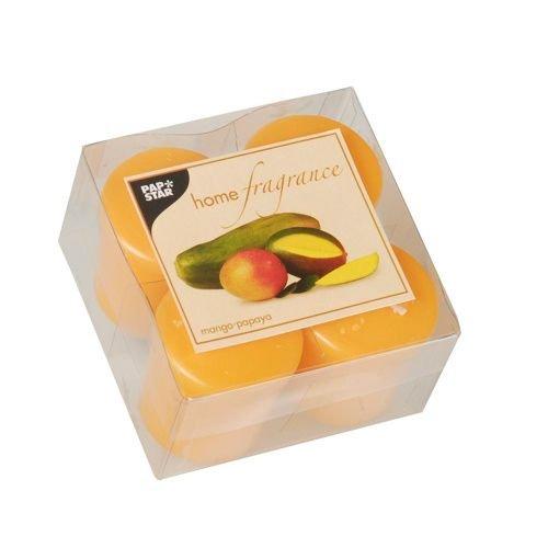 Mango-papaya-duft (Papstar Duft-Minis Mango-Papaya 4x4 St. (83113))