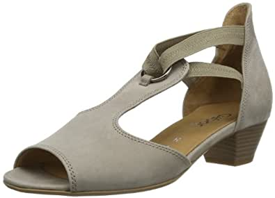 Gabor Shoes Gabor Comfort 86.561.33 Damen Sandalen, Grau (visone), EU 39 (UK 6) (US 8.5)