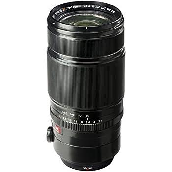 Fujifilm XF 50-140mm f/2.8 R LM OIS WR - Objetivo para Fujifilm X Mount (distancia focal 50-140mm, apertura f/2.8-22, zoom óptico 2.8x,estabilizador óptico, diámetro: 72mm), negro