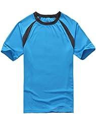 Molly Hommes Manche Courte Séchage Rapide Respirant Sport T Shirt