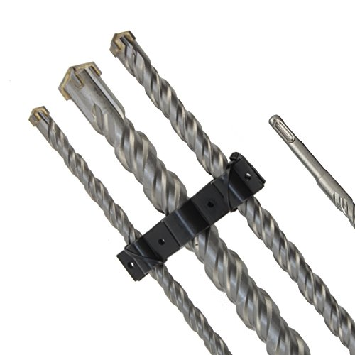 SDS Plus Bohrer Steinbohrer Hammerbohrer Set 12-16-24 mm x 1000 mm 3tlg Kreuzschneide Doppelwendel