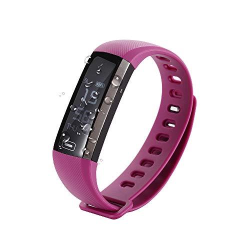 EMEBAY wasserdicht Smart Armband Smart Watch Fitness Tracker Blood Druck Sauerstoff Pulsoximeter passometer Herzfrequenz Tracker App für iOS Android
