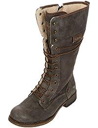 Amazon.fr   Biker boots ou motard - Bottes et bottines   Chaussures ... 7ff71c6ef855