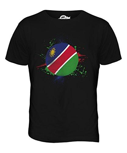 CandyMix Namibia Fußball Herren T Shirt Schwarz