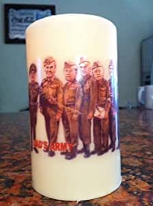 DAD'S ARMY ELECTRONIC FLICKERING CANDLE