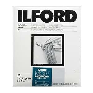 Ilford 1770988 Papier Photo 12,7 x 17,8 cm 25 feuilles
