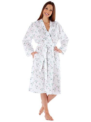 Undercover - Robe de chambre - Portefeuille - Imprimé - Femme blanc floral