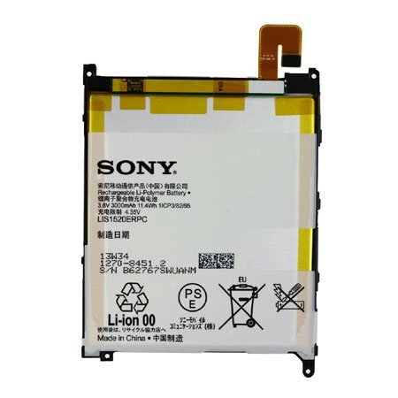 Original Akku Sony LIS1520ERPC für Xperia Z Ultra, XL39h 3000mAh Li-Ion Bulk
