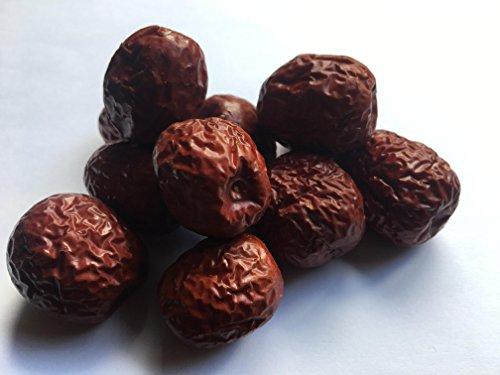 Chinesische rote Daten Hong Zao Datteln große getrocknete natürliche Frucht Fructus Jujubae Premium chinesische Medizin Qualität Qualität (1000g / 1 Kg)