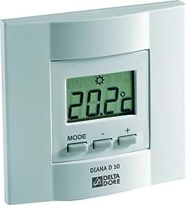 Delta Dore DEL6151047 Thermostat filaire avec écran digital