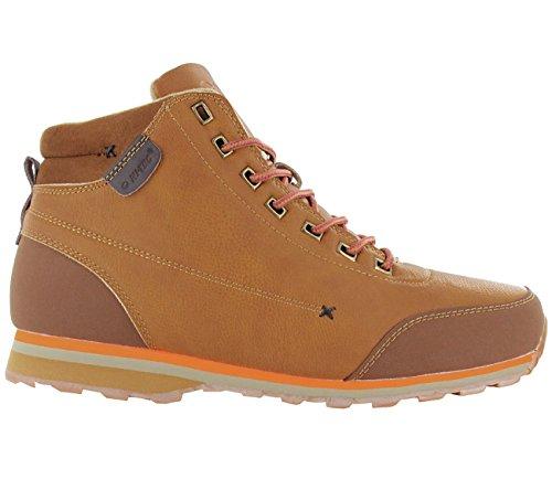 Hi-Tec Sagan Mid Herren Boots Stiefel Camel-Brun Chaussures Homme Baskets Top
