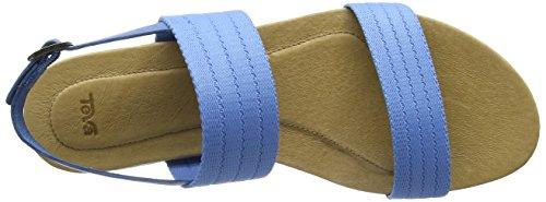 Teva Damen Avalina Sandal Gore W's Absatz Blau (Ceramic Blue)