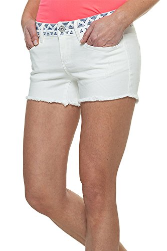 Only Damen Jeans Shorts Carrie Low DNM Shorts 15087103 White W28