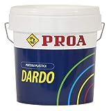 prua pl100r Plastica Esterno Satinata freccetta, 15L