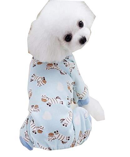 Snaked cat Hunde-Pyjama für Hunde und Katzen, süßer Schlafanzug für Hunde und Katzen