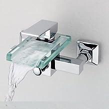 Suchergebnis auf Amazon.de für: badewannenarmatur wasserfall mit ... | {Badewannenarmaturen mit brause 38}