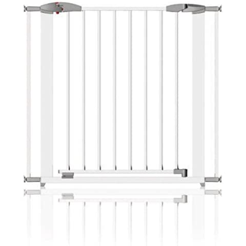 Clippasafe CL1300 Cancelletto Swing Shut Estendibile, in Metallo, colore: Bianco