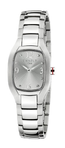 Kienzle KIENZLE LADY K5112011012-00333 - Reloj para mujeres, correa de acero inoxidable color blanco