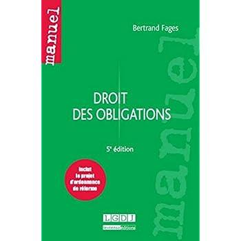 Droit des obligations, 5ème Ed.