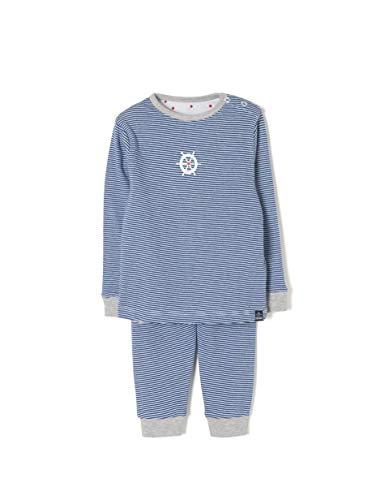 ZIPPY Zbbp03_455_1, Grenouillère Bébé garçon, Bleu (Blue Quartz 2622), 74 (Taille Fabricant: 6/9M)