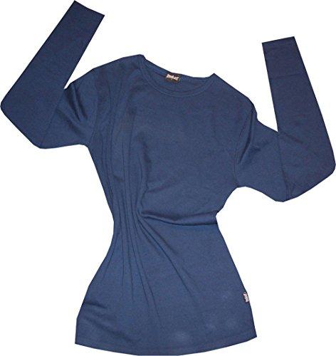 Everlast Longsleeve Langarm Shirt. Gerippter Rundhalskragen. Weiches Material aus100% Baumwolle. Größe Large - Everlast Gerippt