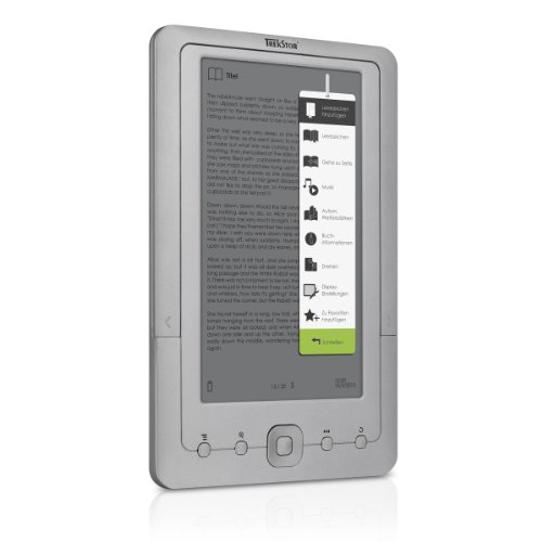 TrekStor eBook Player 7M (17.7 cm (7 Zoll) TFT-Display, 2 GB interner Speicher, Movie-Funktion)