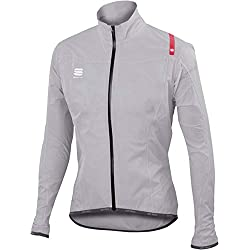Chaqueta Sportful Hot Pack NoRain UltraLight Plata 2017