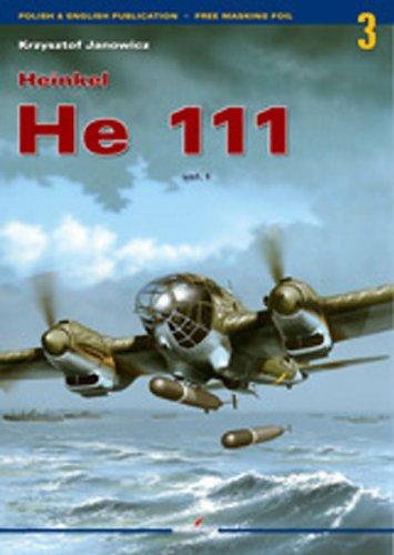 Heinkel He 111 Vol I (Monographs) por Krzysztof Janowicz