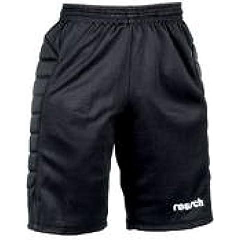 Reusch ciotola cotone imbottito Foorball Trunk da portiere calcio portiere pantaloncini, colore: nero, Junior, M