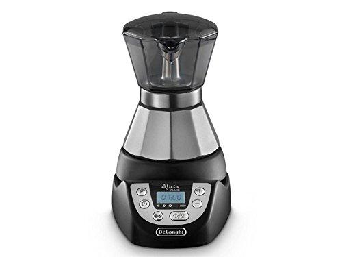DeLonghi EMKP 21.B Cafetera moka eléctrica, 450 W, cronómetro, 2 taz