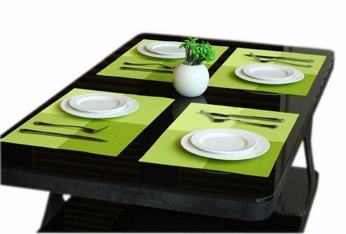 Set mit 4 PVC-Plaids Tischsets 12
