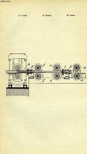Viii, mines et metallurgie, laminoir a plusieurs paires de cylindres disposes l'une derriere l'autre, pour le laminage de tubes sans soudure, 1re addition au brevet d'invention n° 399-430, office national de la propriete industrielle